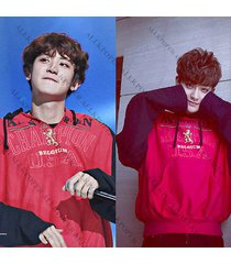 kpop exo chanyeol cap hoodie sweater tao sweatershirt merchandise pullover