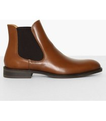 selected homme slhlouis leather chelsea boot b noo chelsea boots ljus brun
