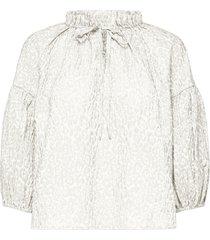 rina 3/4 sleeve blouse