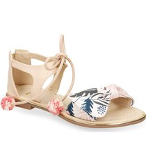 sandalias multicolor bata xamba r mujer