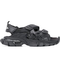 track sandal black