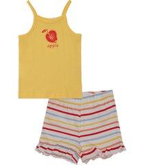 conjunto amarillo-blanco-rojo-azul name it