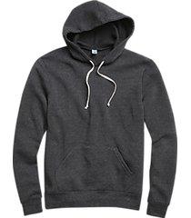 alternative apparel fleece charcoal modern fit hoodie pullover