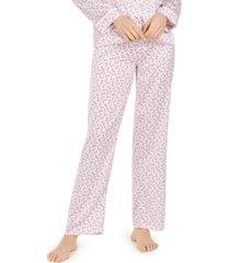 vera bradley floral-print pajama pants