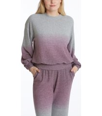 adyson parker women's long sleeve balloon sleeve pullover sweatshirt