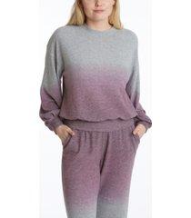 adyson parker women's long sleeve balloon sleeve pullover sweatshirt