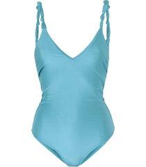 água de coco por liana thomaz one-piece swimsuits