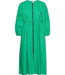 ahannah knälång klänning grön baum und pferdgarten