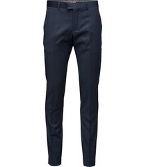 las kostuumbroek formele broek blauw matinique
