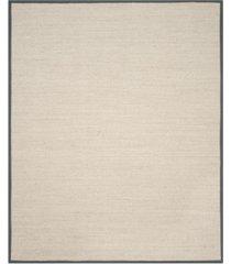 safavieh natural fiber marble and dark gray 8' x 10' sisal weave area rug