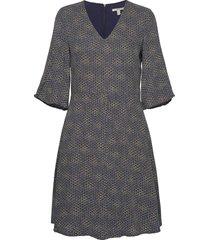 dresses light woven korte jurk blauw esprit casual
