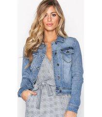object collectors item objwin new denim jacket noos jeansjackor blå