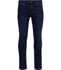 hugo 708 slimmade jeans blå hugo