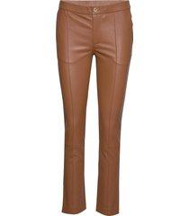 day doguna leather leggings/byxor brun day birger et mikkelsen