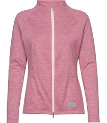 cloudspun w warm up jacket sweat-shirt tröja rosa puma golf