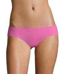 commando women's low-rise bikini bottom - sky - size s/m