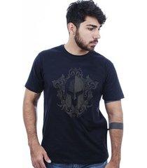camiseta hardivision elmo corrosão manga curta