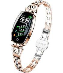 pulsera inteligente para mujer banda colorida pulsera impermeable banda de seguimiento de fitness