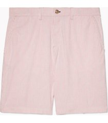 tommy hilfiger adaptive men's ithaca striped shorts with velcro closure and magnetic fly
