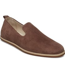 evo loafer suede loafers låga skor brun royal republiq