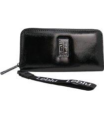 billetera negra leblu