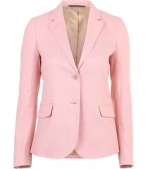 stretch linnen blazer