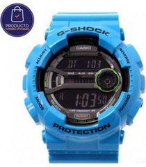 reloj g shock gd_110_2 azul resina hombre