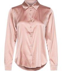 3176 - latia långärmad skjorta rosa sand