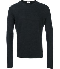 fashion clinic timeless knitted sweater - grey