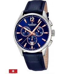 reloj sport athletic chic azul candino
