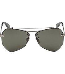 61mm aviator sunglasses