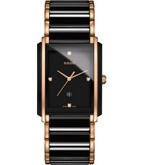 women's rado integral diamond bracelet watch, 31mm x 41mm