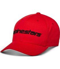 gorro linear hat rojo alpinestars