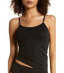 women's nordstrom bare scoop front camisole, size xx-large - black