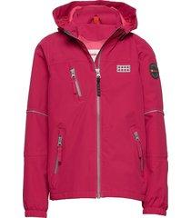 lwjodie 200 - jacket outerwear shell clothing shell jacket rosa lego wear