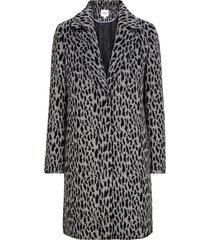 kappa animal printed coat