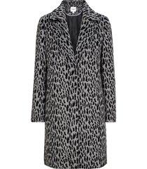 kappa animal printed coat