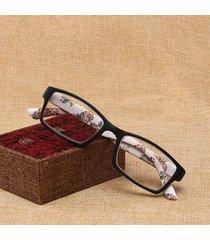 occhiali da lettura square fashion fashion anti-fatigue occhiali da lettura eye health care unisex