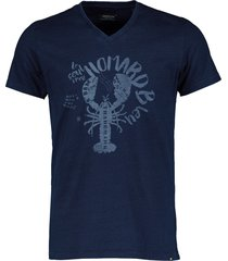 dstrezzed t-shirt - slim fit - blauw