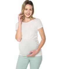 camiseta maternidad mng corta hueso moms closet,