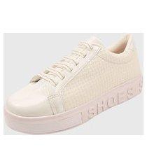 tenis feminino branco sneaker it shoes sapatênis calce fácil