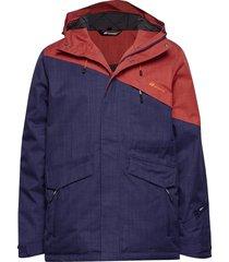 holsen 2-layer techincal jacket outerwear sport jackets blauw skogstad