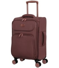 "it girl 22"" composed softside semi-expandable spinner suitcase"