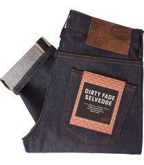 naked and famous indigo super skinny dirty fade selvedge jeans 018530-ind