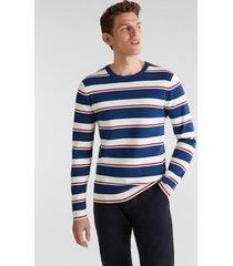 sweater a rayas azul esprit