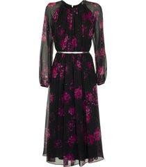 max mara silk dress