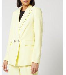 simon miller women's galen jacket - sea lemon - l