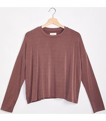 lou & grey fluid cupro top