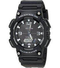 reloj casio aq_s810w_1av negro resina