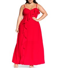 plus size women's city chic catalina maxi dress